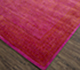 Jaipur Rugs - Hand Knotted Wool and Bamboo Silk Pink and Purple ESK-875 Area Rug Floorshot - RUG1074672