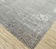 Jaipur Rugs - Hand Knotted Wool and Bamboo Silk Grey and Black ESK-9012 Area Rug Floorshot - RUG1094508