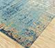 Jaipur Rugs - Hand Knotted Wool and Bamboo Silk Blue ESK-9014 Area Rug Floorshot - RUG1085394