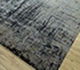 Jaipur Rugs - Hand Knotted Wool and Bamboo Silk Grey and Black ESK-9014 Area Rug Floorshot - RUG1094473