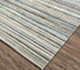 Jaipur Rugs - Hand Knotted Wool and Viscose Grey and Black ESRM-841 Area Rug Floorshot - RUG1071084