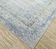 Jaipur Rugs - Hand Knotted Wool and Silk Grey and Black JPL-03 Area Rug Floorshot - RUG1088175