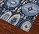Jaipur Rugs - Hand Knotted Wool Blue LCA-02 Area Rug Floorshot - RUG1055148