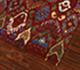 Jaipur Rugs - Hand Knotted Wool Red and Orange LCA-03 Area Rug Floorshot - RUG1054926