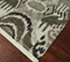 Jaipur Rugs - Hand Knotted Wool Grey and Black LCA-09 Area Rug Floorshot - RUG1063129