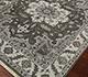 Jaipur Rugs - Hand Knotted Wool Grey and Black LCA-601 Area Rug Floorshot - RUG1076247
