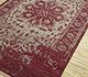 Jaipur Rugs - Hand Knotted Wool Red and Orange LCA-63 Area Rug Floorshot - RUG1084459