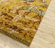 Jaipur Rugs - Hand Knotted Wool Gold LE-63 Area Rug Floorshot - RUG1084897