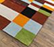 Jaipur Rugs - Hand Tufted Wool and Viscose Red and Orange LEQ-18 Area Rug Floorshot - RUG1081532