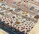 Jaipur Rugs - Hand Knotted Wool Beige and Brown LES-217 Area Rug Floorshot - RUG1077900