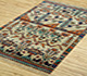 Jaipur Rugs - Hand Knotted Wool and Bamboo Silk Ivory LES-230 Area Rug Floorshot - RUG1077889