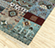 Jaipur Rugs - Hand Knotted Wool Green LES-241 Area Rug Floorshot - RUG1080088