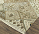 Jaipur Rugs - Hand Knotted Wool and Bamboo Silk Ivory LES-245 Area Rug Floorshot - RUG1080096