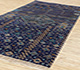 Jaipur Rugs - Hand Knotted Wool and Bamboo Silk Blue LES-275 Area Rug Floorshot - RUG1083968