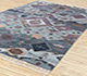 Jaipur Rugs - Hand Knotted Wool and Bamboo Silk Blue LES-277 Area Rug Floorshot - RUG1084013