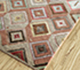Jaipur Rugs - Hand Knotted Wool and Bamboo Silk Red and Orange LES-416 Area Rug Floorshot - RUG1093553