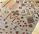 Jaipur Rugs - Hand Knotted Wool and Bamboo Silk Grey and Black LES-449 Area Rug Floorshot - RUG1092467