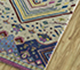 Jaipur Rugs - Hand Knotted Wool and Bamboo Silk Ivory LES-455 Area Rug Floorshot - RUG1092464