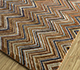 Jaipur Rugs - Hand Knotted Wool and Bamboo Silk Beige and Brown LES-484 Area Rug Floorshot - RUG1093574