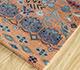 Jaipur Rugs - Hand Knotted Wool and Bamboo Silk Multi LES-488 Area Rug Floorshot - RUG1093560