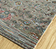 Jaipur Rugs - Hand Knotted Wool and Bamboo Silk Green LES-496 Area Rug Floorshot - RUG1093908