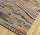 Jaipur Rugs - Hand Knotted Wool and Bamboo Silk Red and Orange LES-498 Area Rug Floorshot - RUG1093910