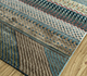 Jaipur Rugs - Hand Knotted Wool and Bamboo Silk Blue LES-503 Area Rug Floorshot - RUG1093916
