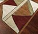 Jaipur Rugs - Hand Tufted Wool Multi LET-1083 Area Rug Floorshot - RUG1063951
