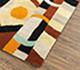 Jaipur Rugs - Hand Tufted Wool Red and Orange LET-1563 Area Rug Floorshot - RUG1081345