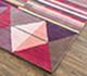 Jaipur Rugs - Hand Tufted Wool Pink and Purple LET-1567 Area Rug Floorshot - RUG1081567
