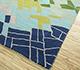 Jaipur Rugs - Hand Tufted Wool Blue LET-1596 Area Rug Floorshot - RUG1084700