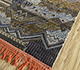 Jaipur Rugs - Hand Knotted Wool and Bamboo Silk Blue LEV-708 Area Rug Floorshot - RUG1099032