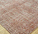 Jaipur Rugs - Hand Knotted Wool and Bamboo Silk Red and Orange LRB-1501 Area Rug Floorshot - RUG1076390