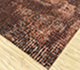 Jaipur Rugs - Hand Knotted Wool and Bamboo Silk Red and Orange LRB-1503 Area Rug Floorshot - RUG1076399