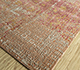 Jaipur Rugs - Hand Knotted Wool and Bamboo Silk Red and Orange LRB-1569 Area Rug Floorshot - RUG1096535