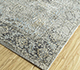 Jaipur Rugs - Hand Knotted Wool and Silk Grey and Black LRS-06 Area Rug Floorshot - RUG1098084