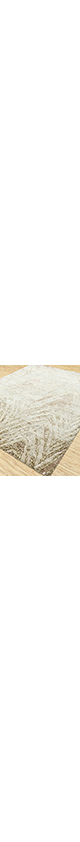 Jaipur Rugs - Hand Knotted Wool and Bamboo Silk Ivory LU-9033 Area Rug Floorshot - RUG1080671