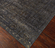 Jaipur Rugs - Hand Knotted Wool and Silk Grey and Black NE-2348 Area Rug Floorshot - RUG1098916
