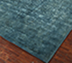 Jaipur Rugs - Hand Knotted Wool and Silk Blue NE-2349 Area Rug Floorshot - RUG1028132
