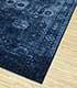 Jaipur Rugs - Hand Knotted Wool and Silk Blue NE-2364 Area Rug Floorshot - RUG1081612
