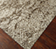 Jaipur Rugs - Hand Knotted Wool and Silk Grey and Black NMS-04 Area Rug Floorshot - RUG1072205