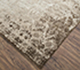 Jaipur Rugs - Hand Knotted Wool and Silk Grey and Black NMS-09 Area Rug Floorshot - RUG1074492