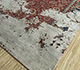 Jaipur Rugs - Hand Knotted Wool and Silk Red and Orange NMS-16 Area Rug Floorshot - RUG1088111