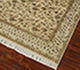 Jaipur Rugs - Hand Knotted Wool and Silk Gold NRA-05 Area Rug Floorshot - RUG1041796