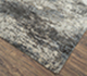 Jaipur Rugs - Hand Knotted Wool and Silk Grey and Black NRA-202 Area Rug Floorshot - RUG1082413