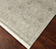 Jaipur Rugs - Hand Knotted Wool and Silk Grey and Black NRA-30 Area Rug Floorshot - RUG1057787
