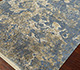 Jaipur Rugs - Hand Knotted Wool and Silk Blue NRA-853 Area Rug Floorshot - RUG1066000
