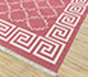 Jaipur Rugs - Flat Weave Cotton Pink and Purple PDCT-103 Area Rug Floorshot - RUG1086754