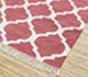 Jaipur Rugs - Flat Weave Cotton Pink and Purple PDCT-59 Area Rug Floorshot - RUG1086705