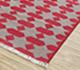 Jaipur Rugs - Flat Weave Cotton Red and Orange PDCT-68 Area Rug Floorshot - RUG1086710